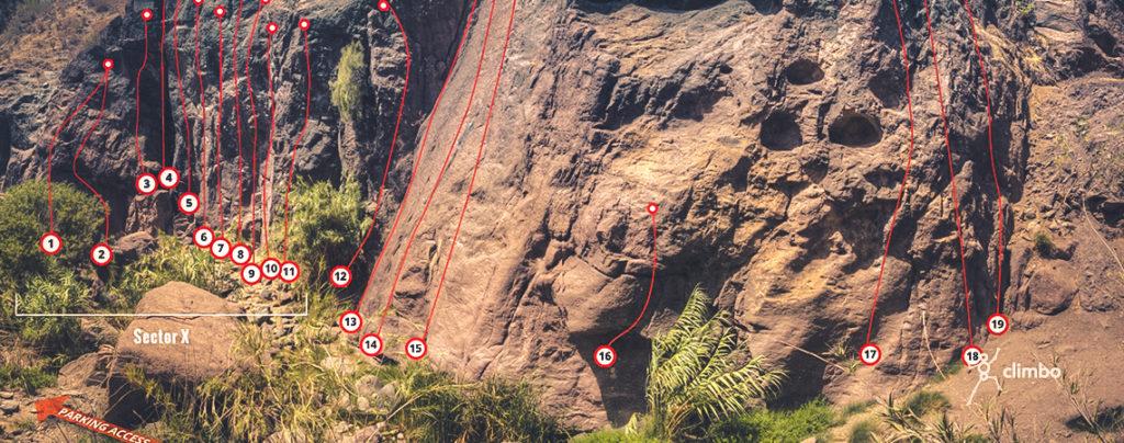 Sorrueda Climbing Topos Salón